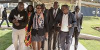 Cabinet Secretary Health Sicily Kariuki at Iten Referral Hospital