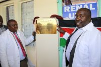 Opening of a renal unit at ICRH
