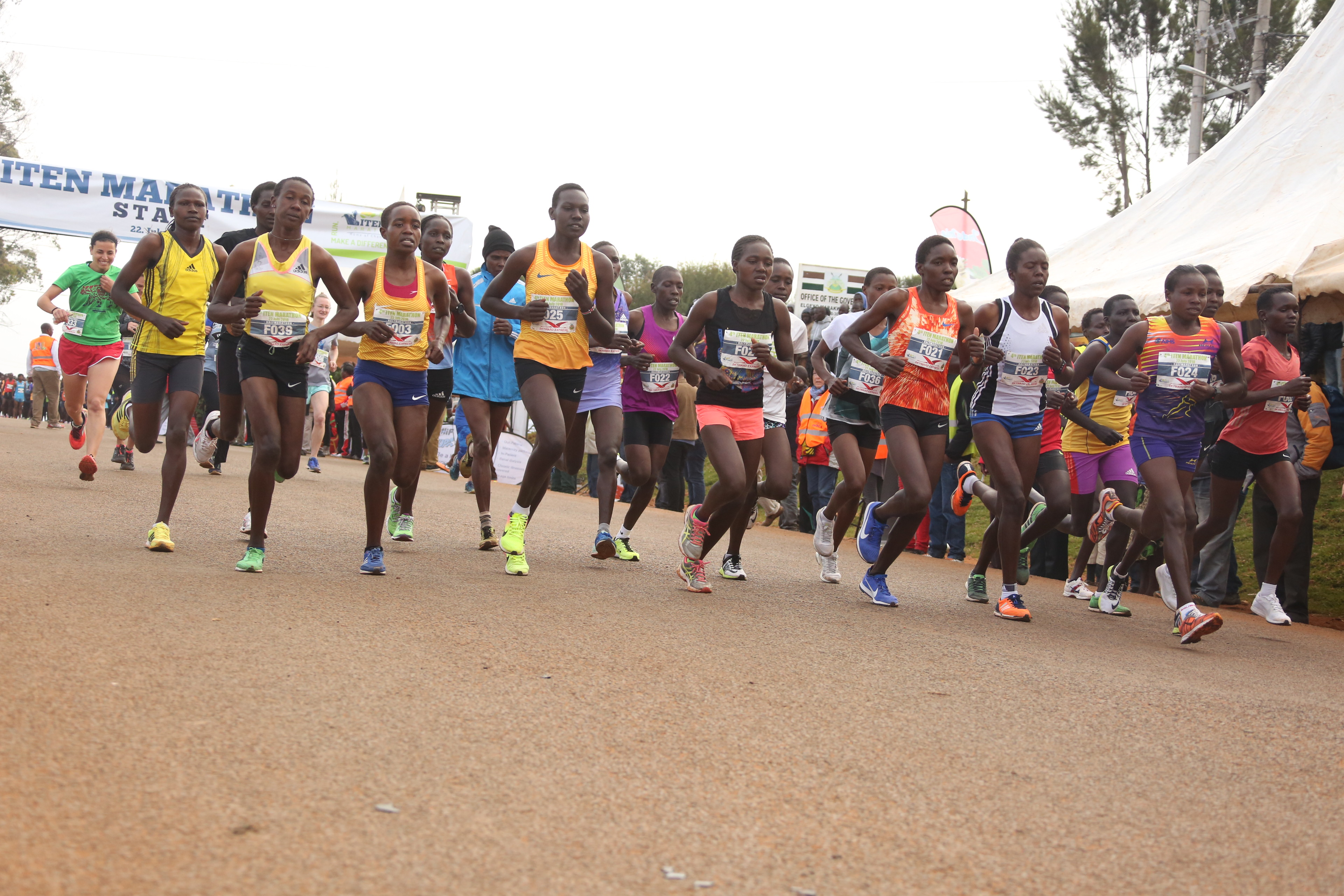 Iten shines globally as IAAF honours town with prestigious heritage plaque