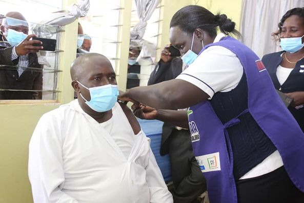 Covid-19 vaccination launched