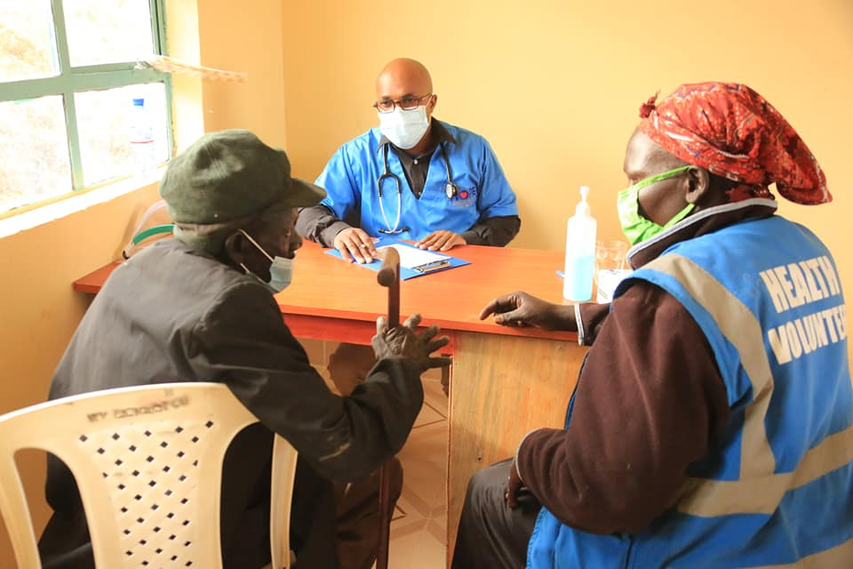 Residents benefit from medical camp