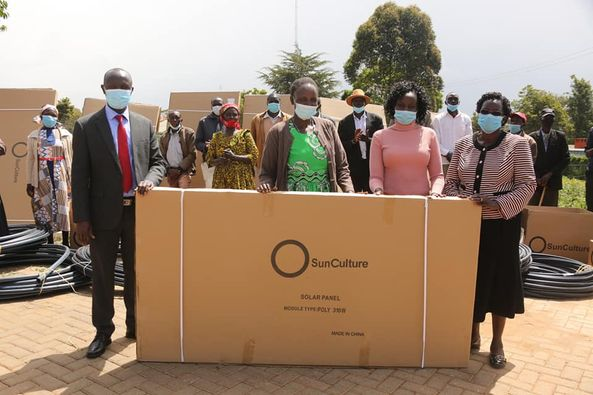 Farmer groups benefit from Sun Culture irrigation kits