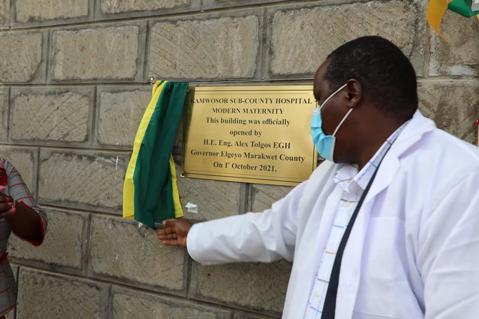 Tolgos opens multi-million health projects in Kamwosor